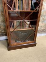 Late Victorian Bookcase with Glazed Door & Adjustable Shelves (6 of 7)
