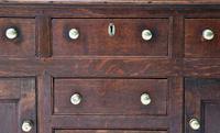 Beautiful 18th Century Georgian Oak Dresser/ Sideboard c.1770 (11 of 14)