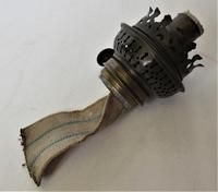 Edwardian Cast Iron and Glass Rise and Fall Oil Lamp c.1900 (10 of 10)