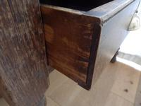 Solid oak school desk (5 of 7)