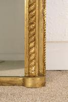 Gilt 'Rope Twist'  Arch Top Overmantle Mirror (6 of 8)