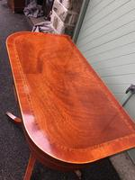 Quality Inlaid Mahogany Fold Over Games Table (7 of 12)