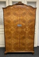 Burr Walnut 2 Door Wardrobe