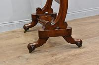 Antique Victorian mahogany free standing cheval dressing mirror (2 of 4)