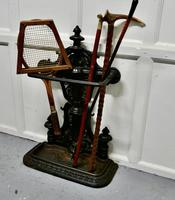 Large Cast Iron Umbrella Stick  Stand (6 of 8)
