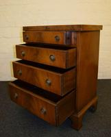 Reprodux bevan funnell flame mahogany bachelors chest (5 of 8)