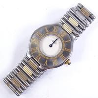 Ladies Stainless Steel Must De Cartier Quartz Wristwatch (2 of 5)