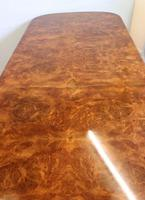 Quality Antique Burr Walnut Dining Table (3 of 14)