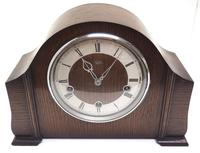 Very Good Arched Top Art Deco Mantel Clock – Musical Westminster Chiming 8-day Mantle Clock (3 of 8)