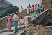 Figures on a Spanish Bridge by Thomas Pote (3 of 6)