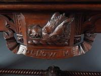 Carved Oak Serving Table Attributed to Pugin (2 of 17)