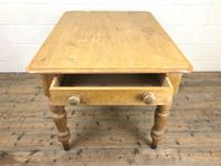 Antique Pine Kitchen Table (2 of 7)