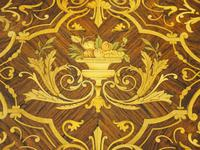 Louis XV Style French Marquetry Games / Side Table (6 of 15)
