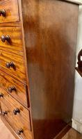 Early 19th Century Solid Mahogany Tall Chest of Drawers by Heal & Son (4 of 6)