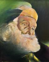 Early 1900s Oil Portrait Painting of Elderly Bearded Indian Gent (2 of 12)
