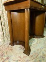 Art Deco Side Table / Desk (6 of 8)