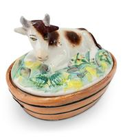 Earthenware Butter Dish (2 of 6)