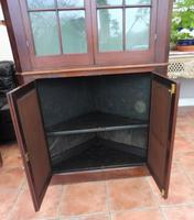 Mahogany Flame Astral Glazed Corner Cupboard 1780 (5 of 10)