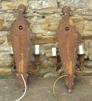 Pair of Antique Venetian Gilt Wall Lights (5 of 5)