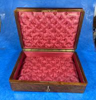 19th Century French Rosewood Jewellery  Box (11 of 11)