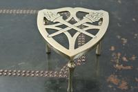 Wt&s William Tonks Brass Flaming Torch Trivet Pot Kettle Stand (2 of 3)
