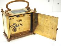 Fine Antique French 8-day Rectangle Carriage Clock Mantel Timepiece c.1890 (7 of 10)