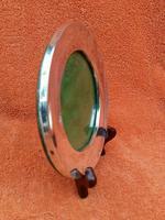 Antique Sterling Silver Hallmarked Round Picture Frame 1909, Sydney & Co, Birmingham (3 of 7)