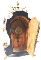 Fine French Ebony & Ormolu Boulle Mantel Clock – Farcot Skelton Dial 8 Day Mantle Clock (9 of 9)