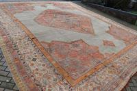 Massive Antique Ushak Carpet 597x525cm (6 of 13)