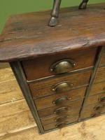 Reclaimed Scratch Built Bank of Drawers, Industrial Crafting or Tool Drawers (15 of 16)