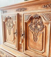 French Antique Style Cabinet / Louis XV / Cupboard / Sideboard / Drinks Cabinet (3 of 7)