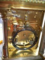 Bi Metal Strike / Repeat / Alarm Carriage Clock (4 of 6)