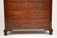 Antique Georgian Inlaid Mahogany Chest of Drawers (8 of 11)