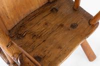 18th Century Belgian Primitive Ash Chair (6 of 6)