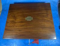 Georgian Mahogany Box With a Working Lock and Key (5 of 13)