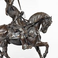 Italian Bronze Equestrian Sculpture of Emanuele Filiberto, Duke of Savoia, by Baron Carlo Marochetti (9 of 17)