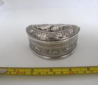 Beautiful Antique Silver Shan States Burmese Lime Box c.1900 (8 of 8)