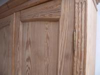Victorian Antique Pine 2 Door Knockdown Storage Cupboard to wax / paint (6 of 11)
