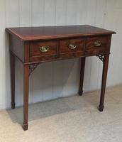 Inlaid Mahogany Side Table (8 of 10)