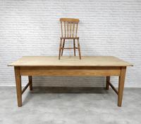 Large Farmhouse Pine Kitchen Table (4 of 9)