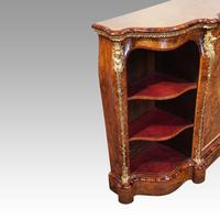 Victorian Inlaid Walnut Side Cabinet (7 of 17)