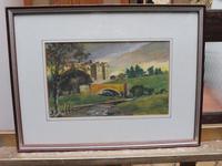 Watercolour Bourthwick  Castle Scotland, A B Moffat (3 of 10)