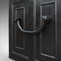 Antique Strongbox, English, Cast Iron, Safe, Deposit Case, Victorian c.1850 (12 of 12)