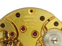 9kt Gold Longines Men's Wristwatch Swiss 1944 (8 of 10)