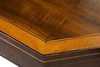 Regency Mahogany Card Table on Square Tapered Legs (10 of 10)