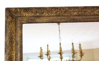 Gilt Large 19th Century Overmantle or Wall Mirror (2 of 9)