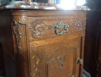 Pair of Carved Oak Bedside Cabinets (4 of 6)