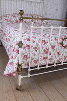 Beautiful Victorian King Size Half Tester Bed (6 of 11)