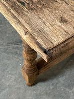 French Rustic Bleached Oak Coffee Table (15 of 17)