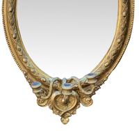 Lovely 19th Century Gilt Girondole Mirror (3 of 3)